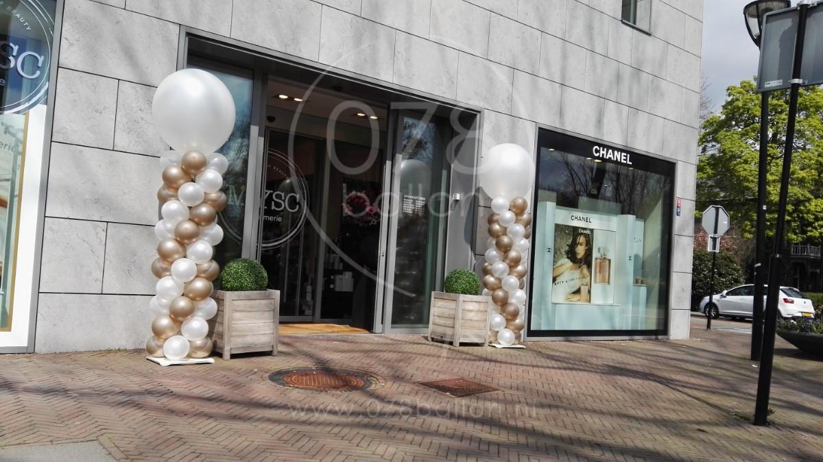 078ballon de ballondecoratie specialist van de drechtsteden ballondecoratie voor jubileum - Decoratie terrace ...