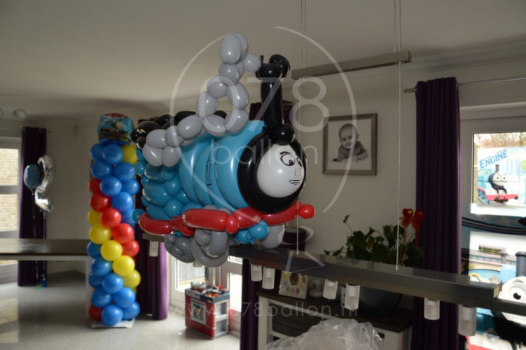 Verjaardagsdecoratie Thomas de Trein (mrt. 2015)