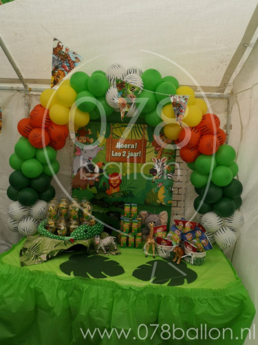 Jungle verjaardagsfeest (mei 2109)
